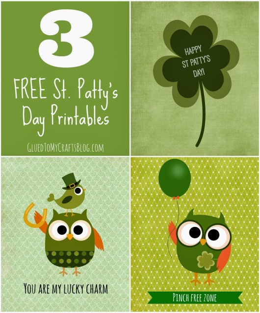 St Patty's Day {Printables}