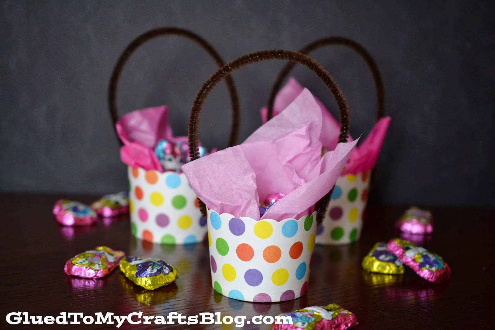 Mini easter baskets craft glued to my crafts mini easter baskets craft negle Images