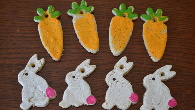 Salt Dough Easter Tags {Craft}