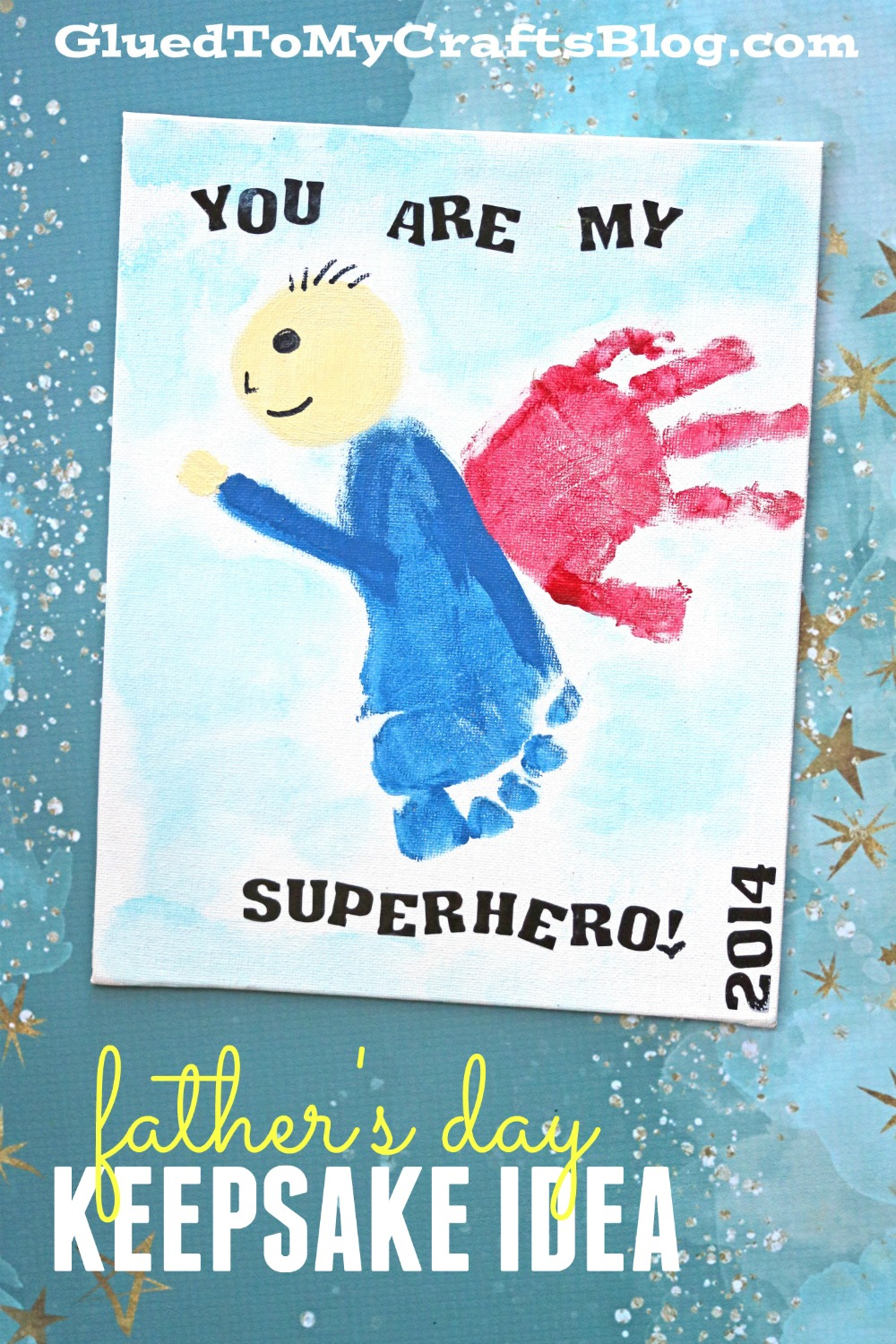 You Are My Superhero Father S Day Gift Idea Fun Idea For