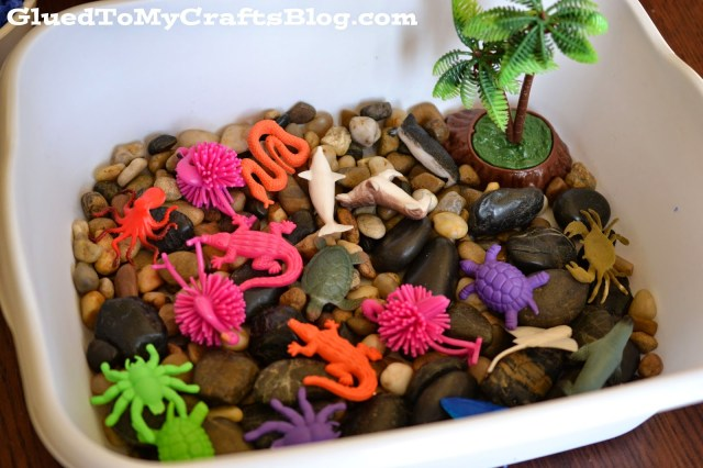 Ocean Sensory Play {Bin Idea}