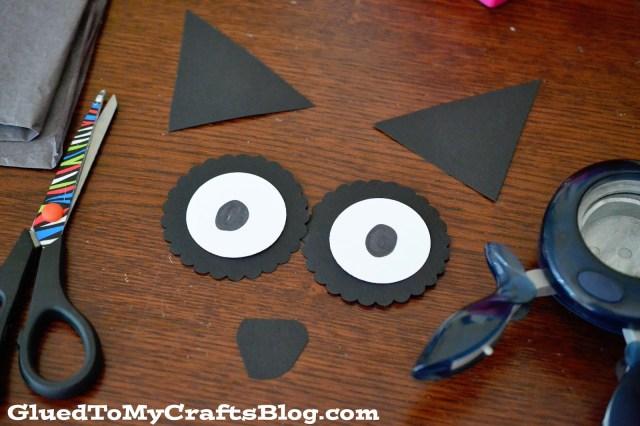 Paper Plate Raccoon {Kid Craft}