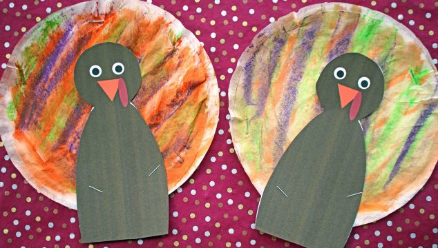 Coffee Filter Turkeys - Kid Craft