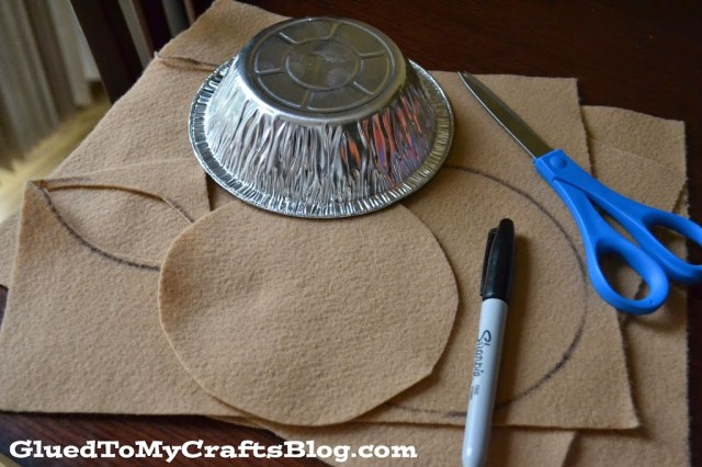 Pumpkin Pie - Felt Pretend Play {Busy Bag Idea}