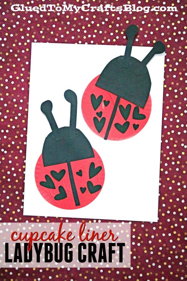 Cupcake Liner Ladybugs {Kid Craft}
