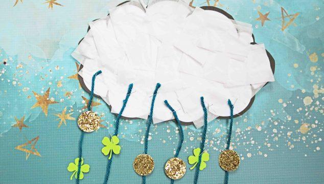 Raining Luck - Kid Craft Idea & Free Printable