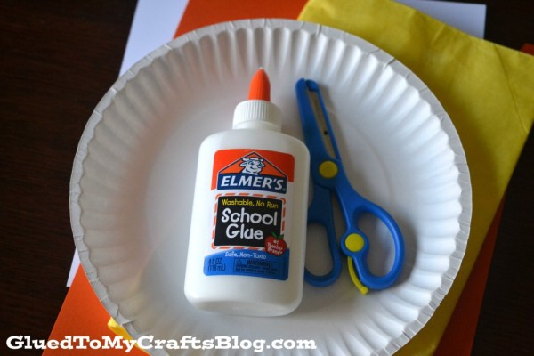 Paper Plate Duck Kid Craft