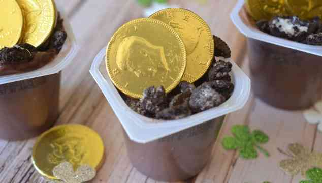 Pot of Gold – Pudding Snack