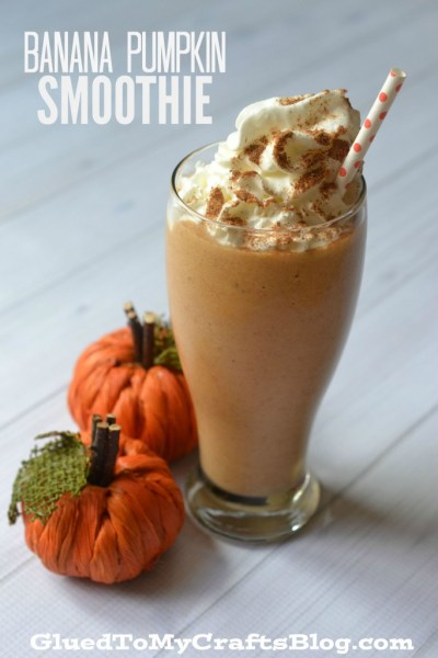 Banana Pumpkin Smoothie - Recipe