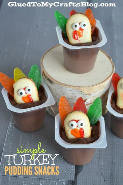 Simple Turkey Pudding Snacks