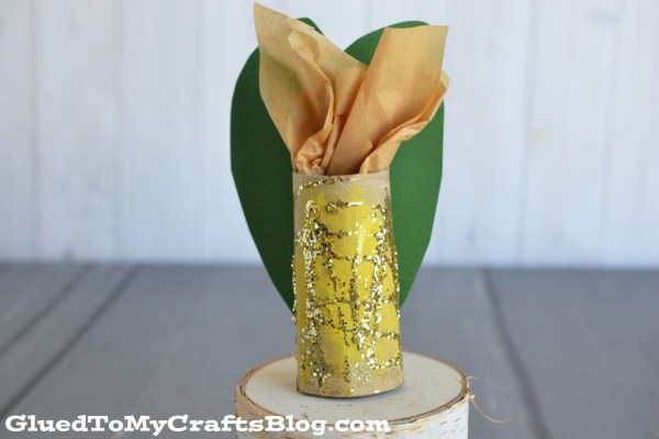 Toilet Paper Roll Corn Cob - Kid Craft