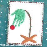 Handprint Charlie Brown Christmas Tree Keepsake For Kids To Make
