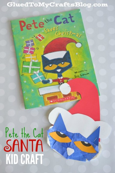 Pete the Cat Santa - Kid Craft