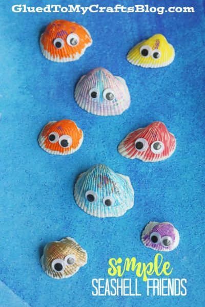 Simple Seashell Friends - Kid Craft