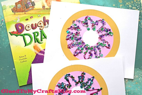Colorful Doughnut Kid Craft Idea w/free printable