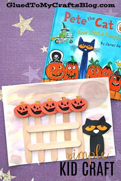 Five Little Pumpkins - Kid Craft