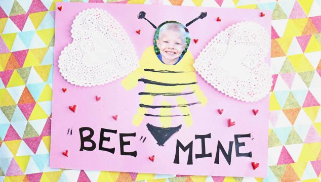 Handprint BEE Mine Keepsake Idea