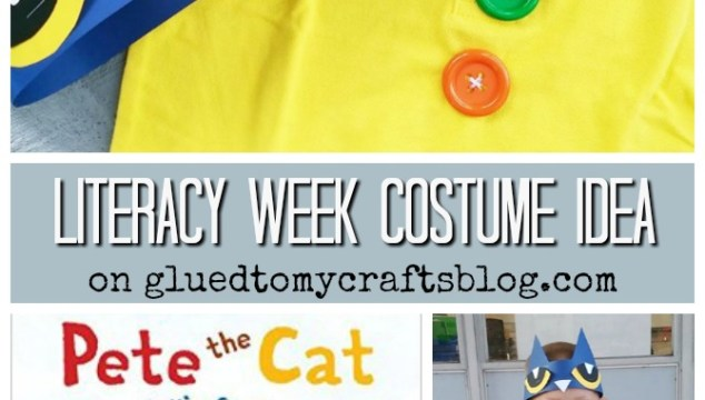 Groovy Buttons – Pete The Cat Costume Idea