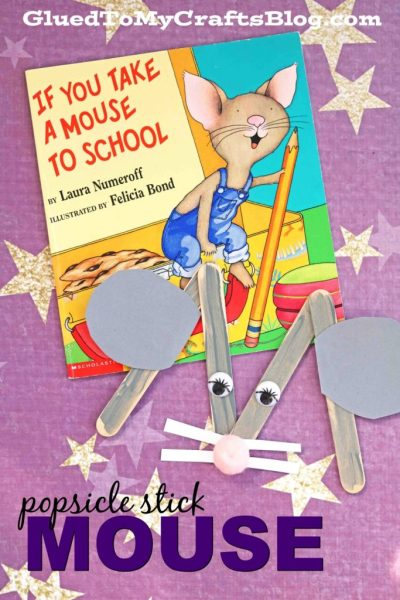 Popsicle Stick Mouse - Kid Craft