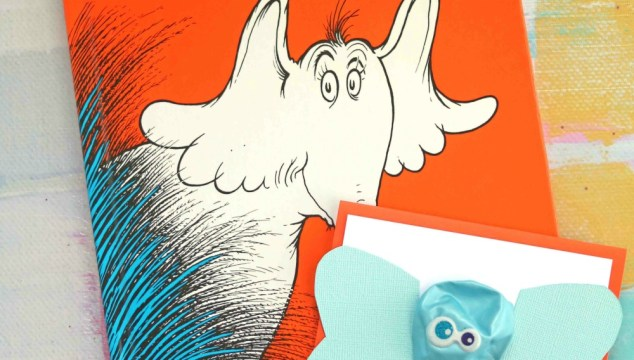 Horton Hears A Who – Balloon Elephant Kid Craft
