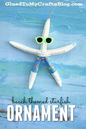 Beach Themed Starfish Ornament