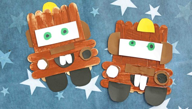 Popsicle Stick Mater – Cars Kid Craft Idea