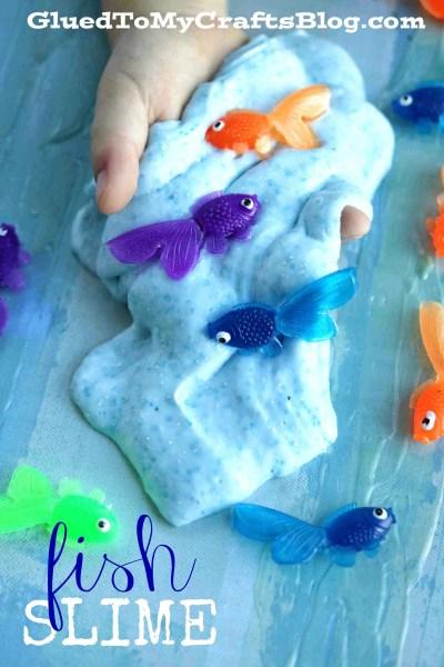 DIY Fish Slime - No Borax Recipe