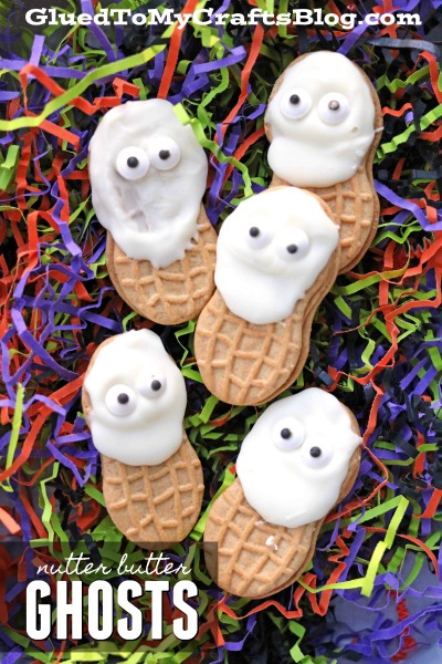 Nutter Butter Ghost Friends