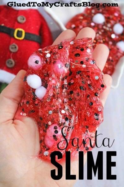 Santa Inspired Slime