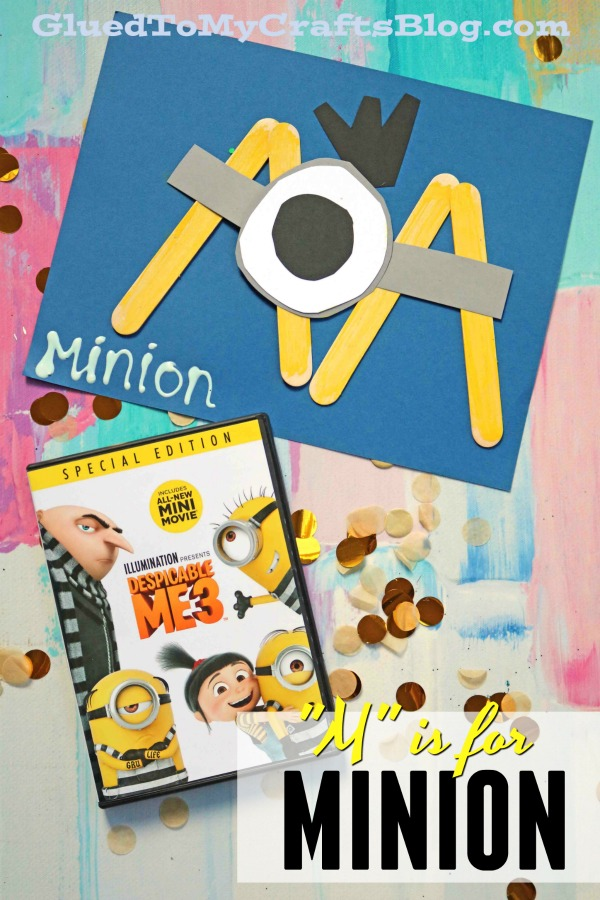 """M"" is for Minion - Kid Craft"