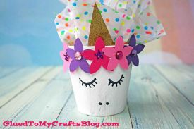 Terra Cotta Pot Unicorn Craft
