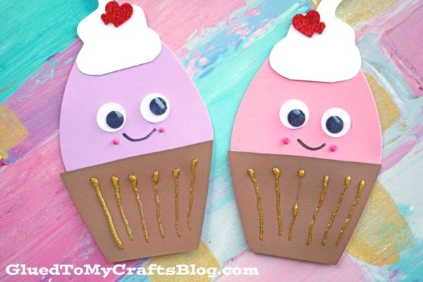 Easter Egg Cupcake Friends - Kid Craft
