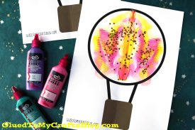 Paint Splat Hot Air Balloon – Kid Craft
