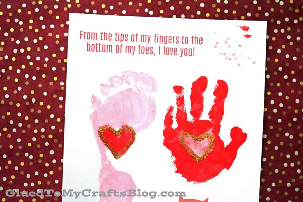 From The Tips Of My Fingers - Keepsake Printable