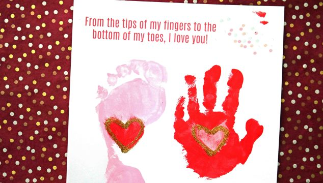 From The Tips Of My Fingers – Keepsake Printable