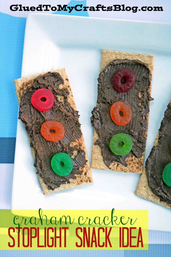 Graham Cracker Stoplight Kid Snack