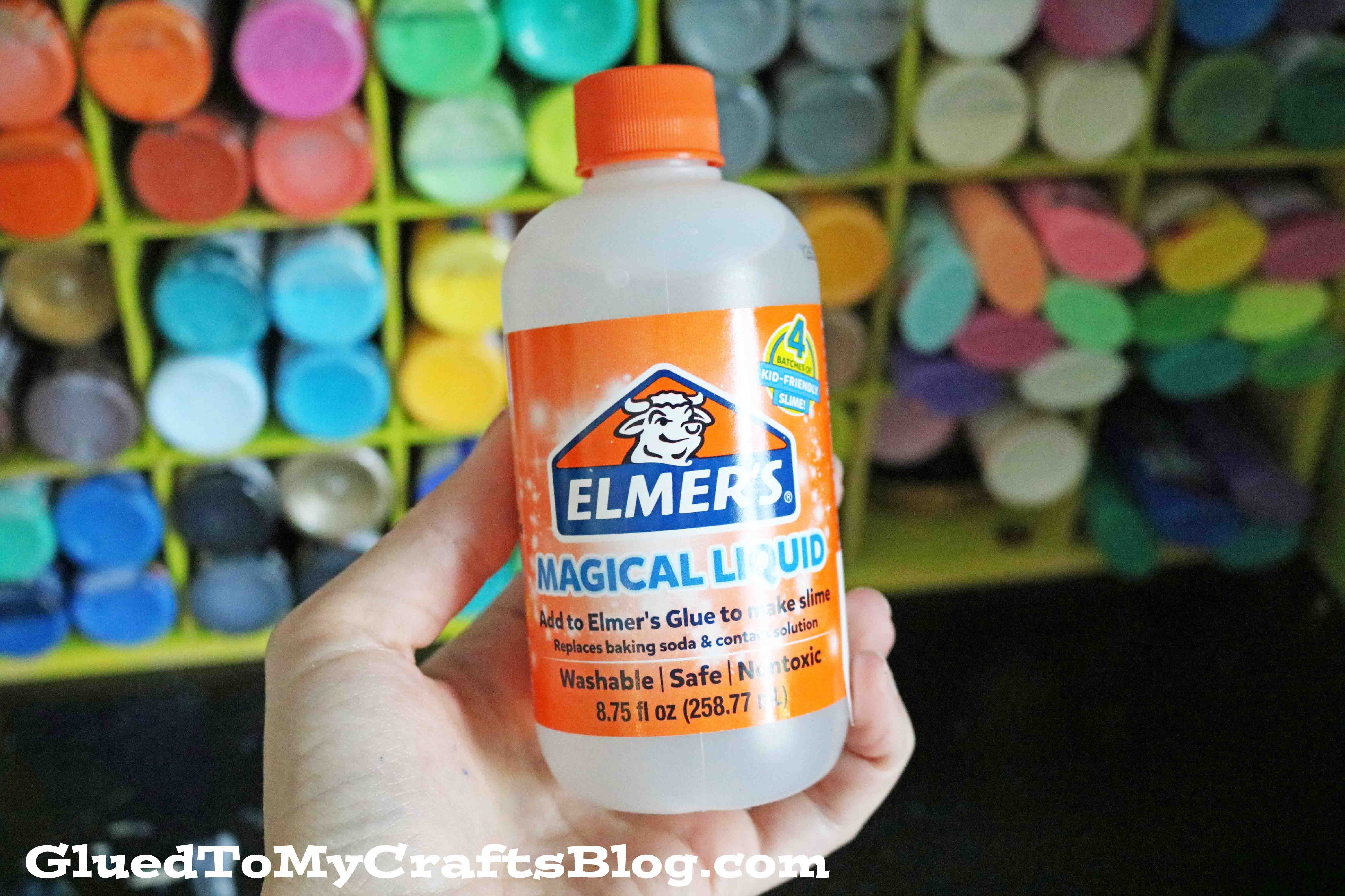 How to make slime activator with powder laundry detergent