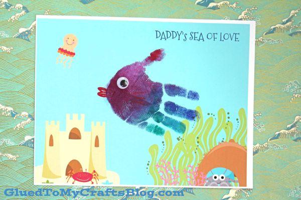 Dad's Ocean of Love - Keepsake Printable