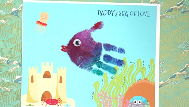 Dad's Ocean of Love - Keepsake Printable
