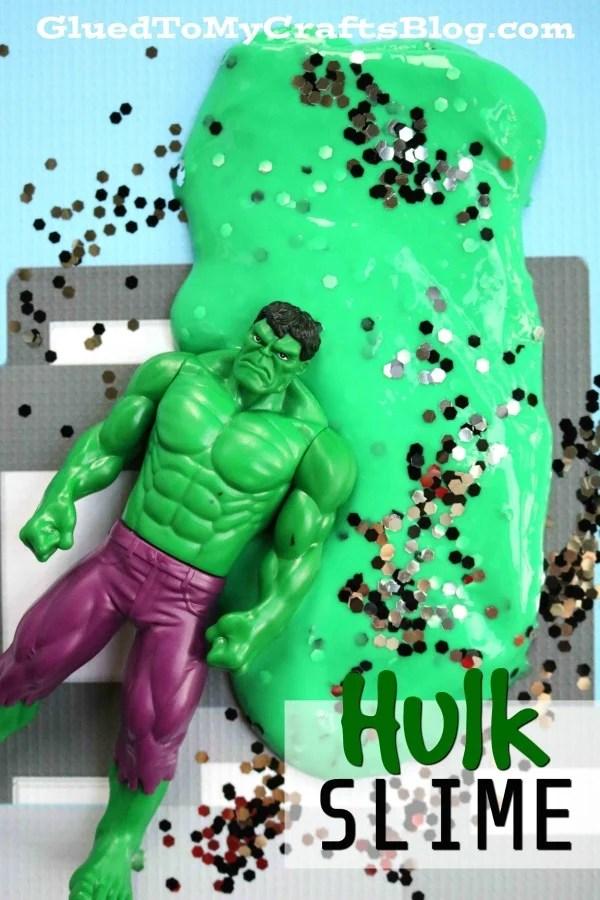 Hulk Inspired Slime