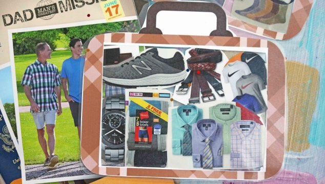 Mixed Media Suitcase - Kid Craft Idea