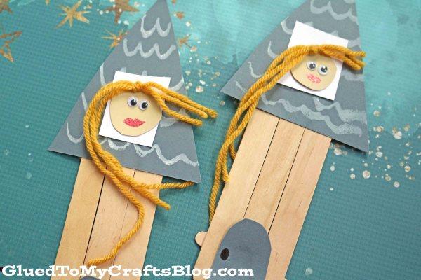 Popsicle Stick Rapunzel Castle - Kid Craft