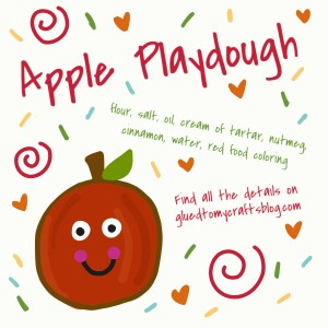 Apple Scented Playdough Recipe