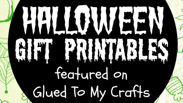 GTMC Collection of Halloween Gift Printables