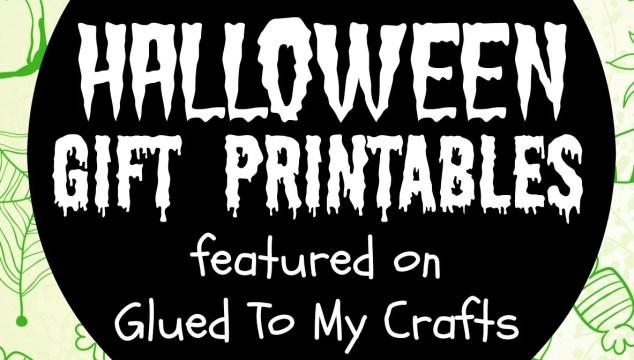 GTMC Collection of Halloween Gift Printables