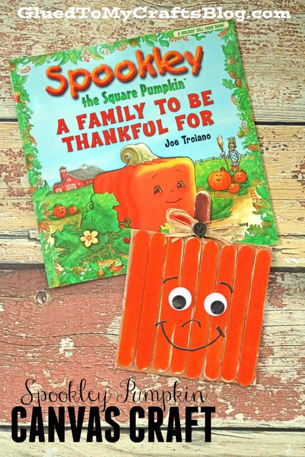 Spookley The Square Pumpkin Canvas - Kid Craft