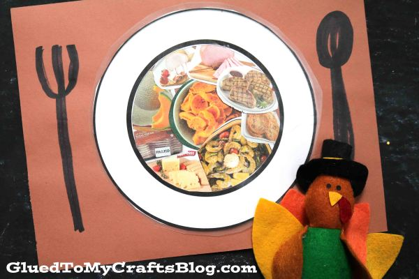 What Will Be On Your Plate This Thanksgiving - Kid Craft