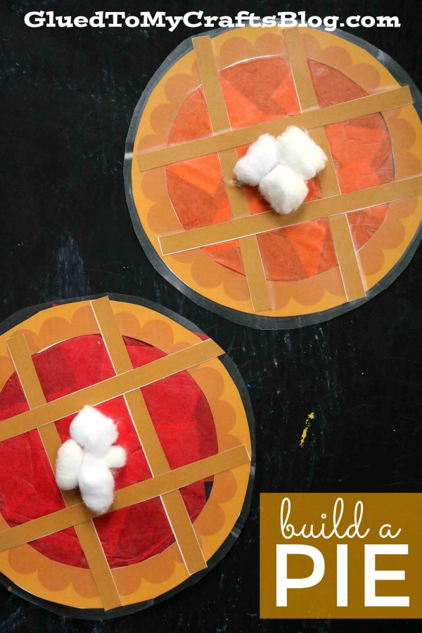 Build Your Own Pie - Kid Craft