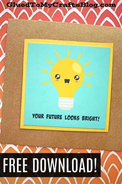 You Have A Bright Future - Gift Tag Printable