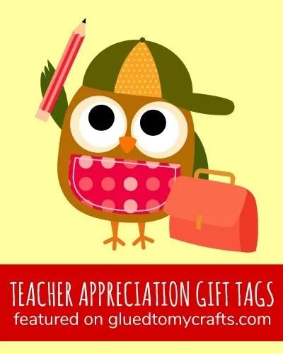 Teacher Appreciation Gift Tag Collection